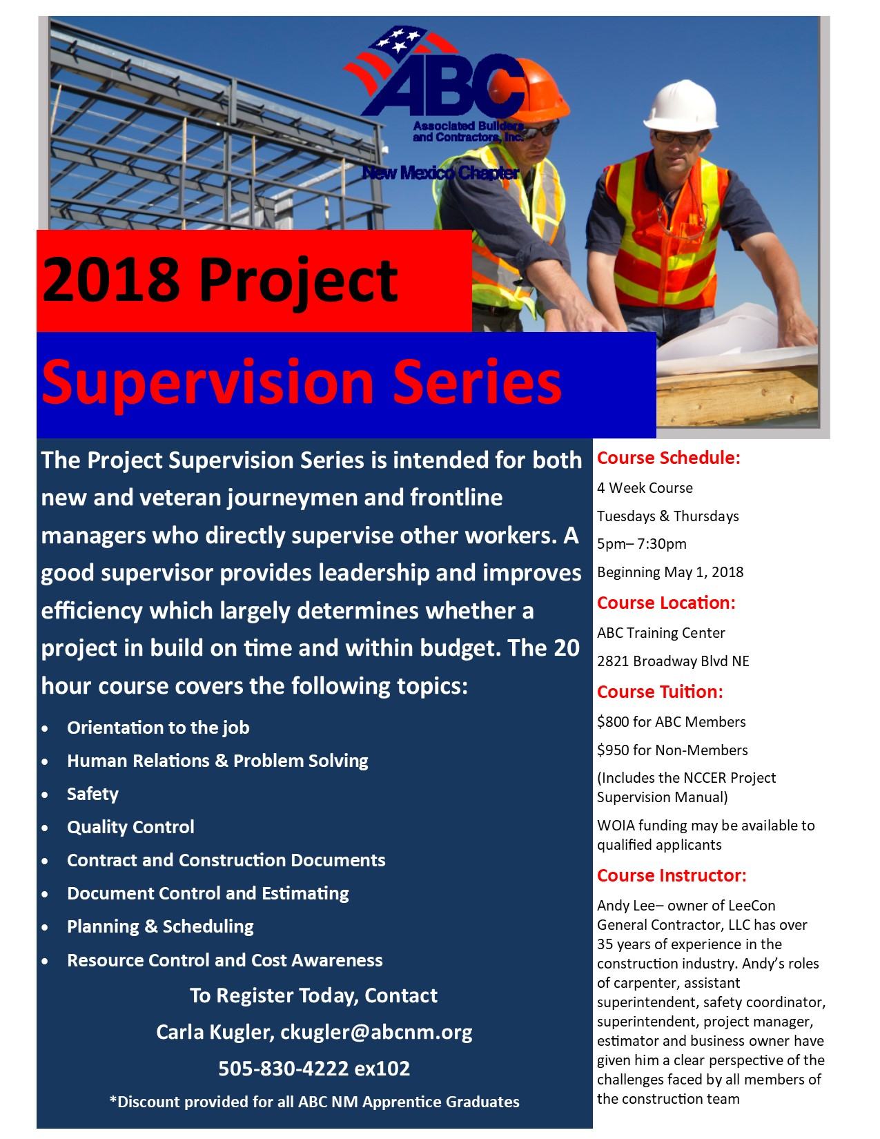 Project Supervision Series2018